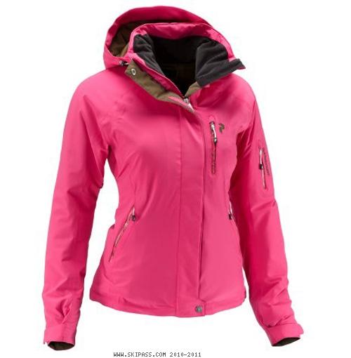 Veste ski femme rose fushia