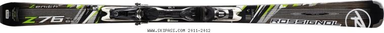 Rossignol Zenith Z76 Ti BASALT TPX