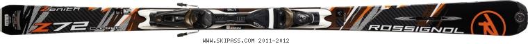 Rossignol Zenith Z72 CARBON TPI2