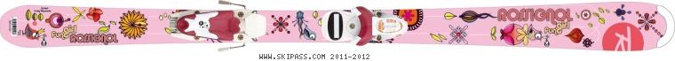 Rossignol Fun Girl ZIP JR 140/150