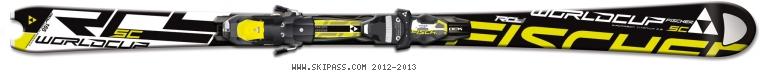 Fischer RC4 Worldcup SC Pro Racetrack