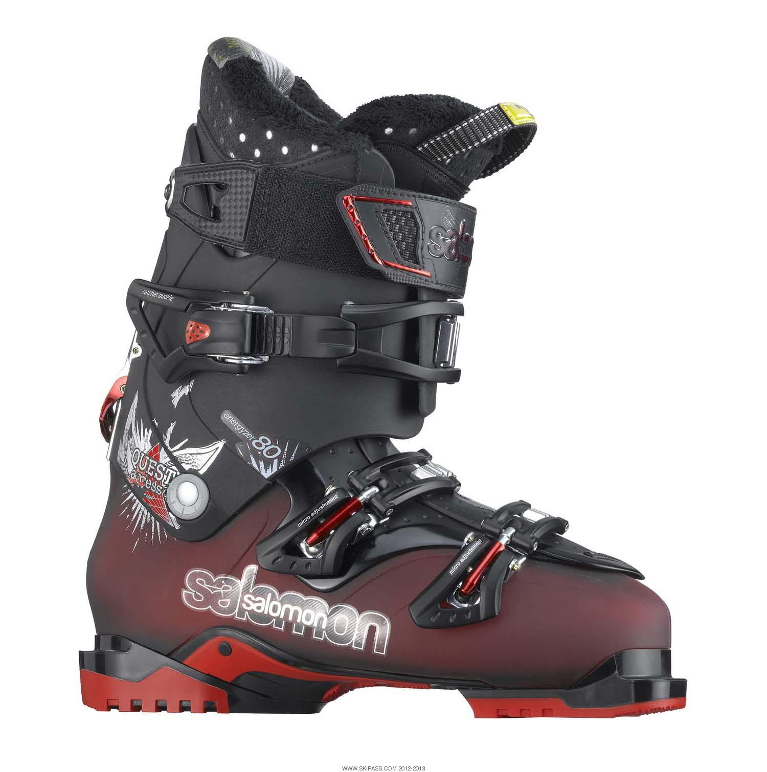Test chaussure ski Salomon Quest Access 80 2016, avis
