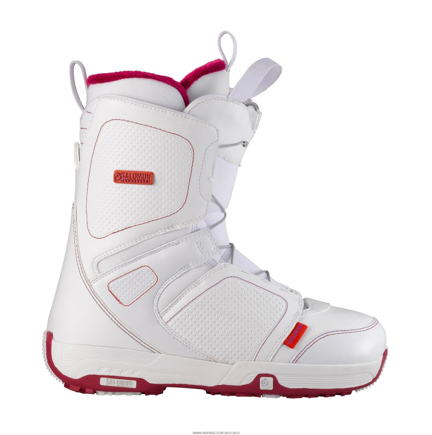 Neige & Caillou | Boots de snowboard SALOMON PEARL BOA