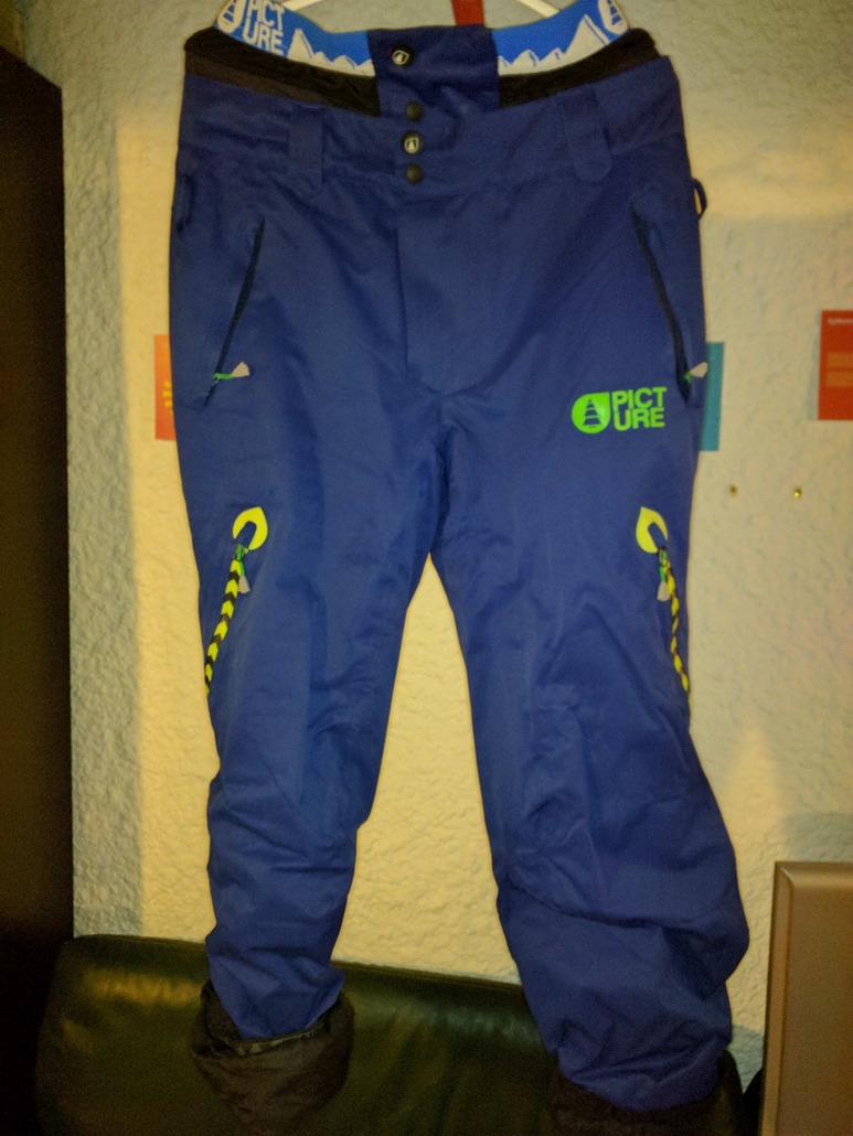 Picture Organic Clothing Contrast Pant Blue