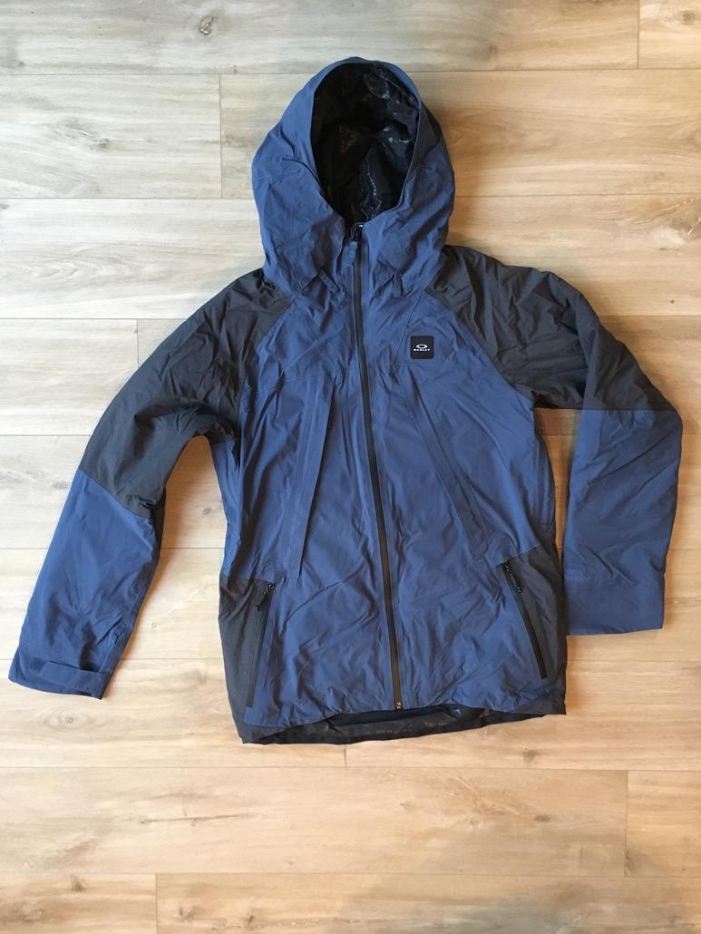 Oakley KEYHOLE 2L GORE BZD JKT BLUE SHADE : La veste parfaite
