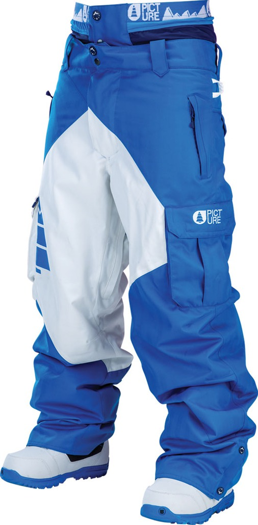 Picture Organic Clothing Partner Pant Blue