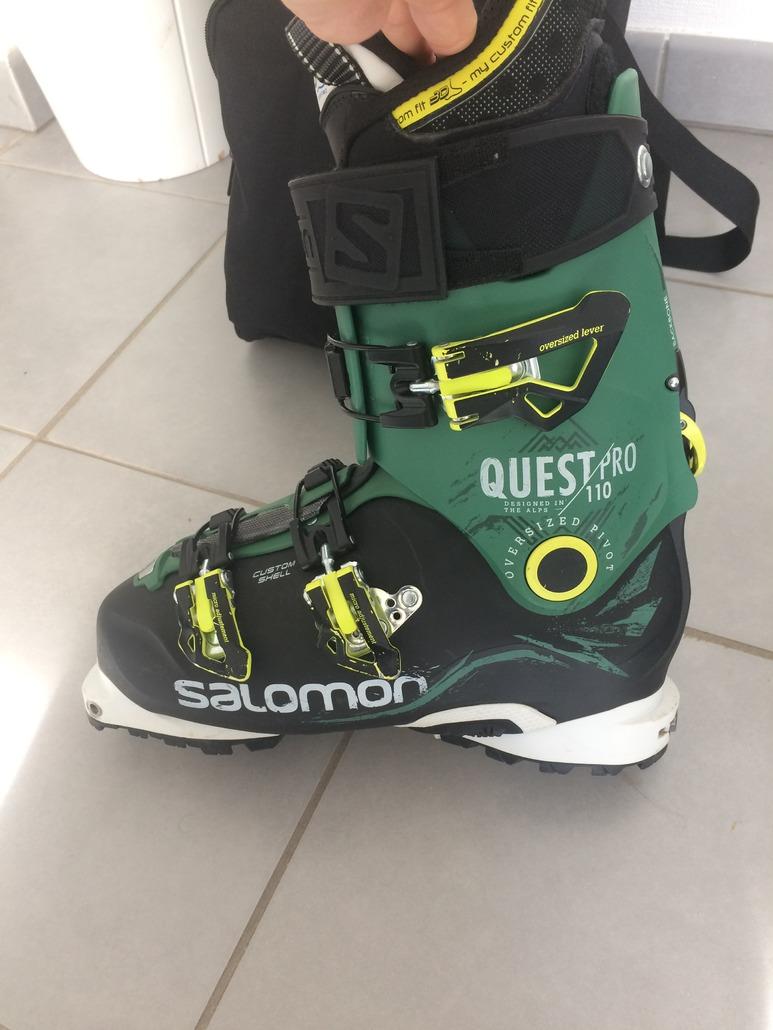 chaussure salomon de randonnee,chaussures salomon quest 110