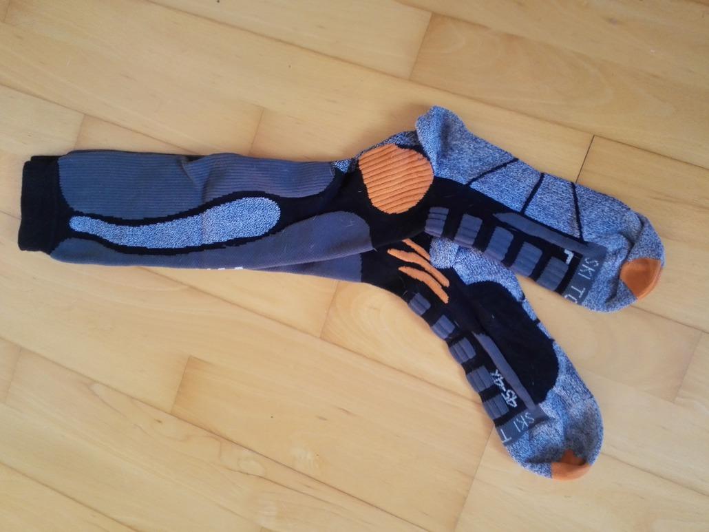 Xbionic Ski Touring Silver Socks