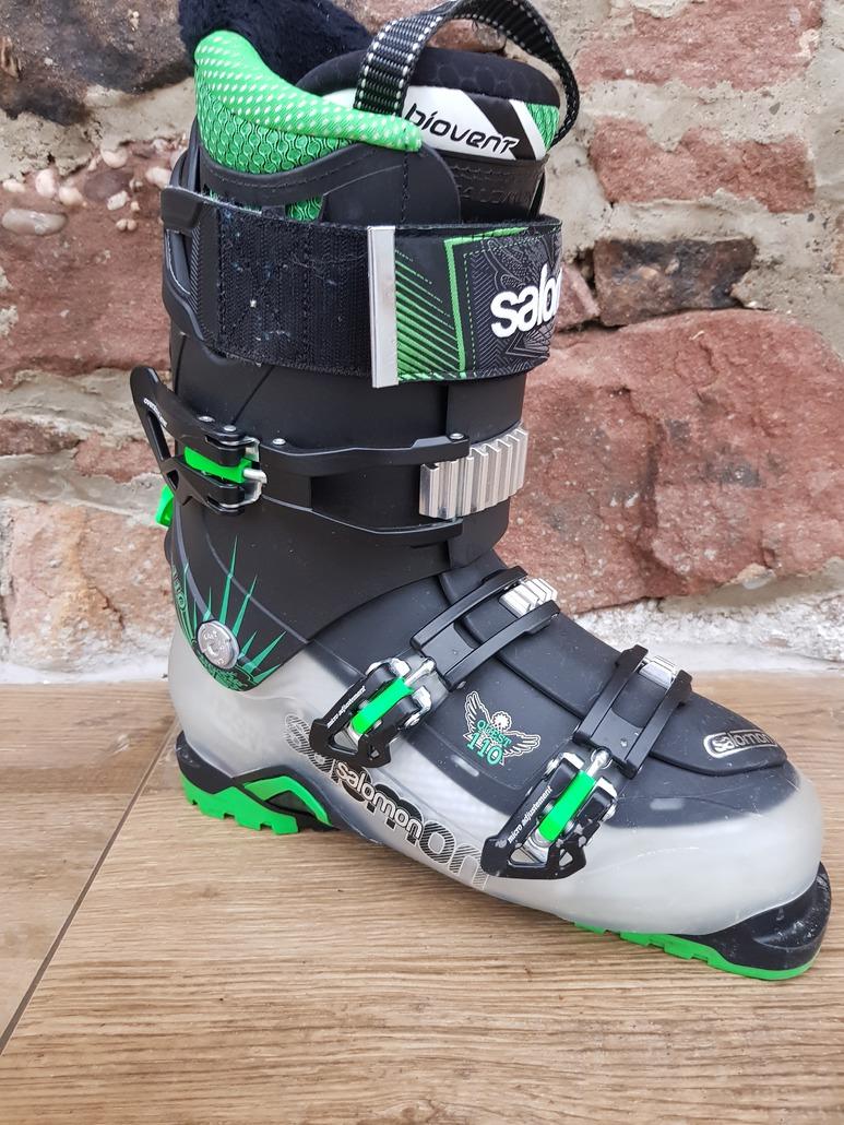 Test chaussure de ski Salomon Quest Max 110 2015, chaussures