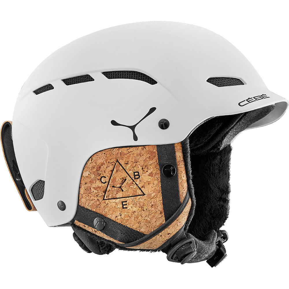 Cébé Cebe Casque Dusk Matt White Cork