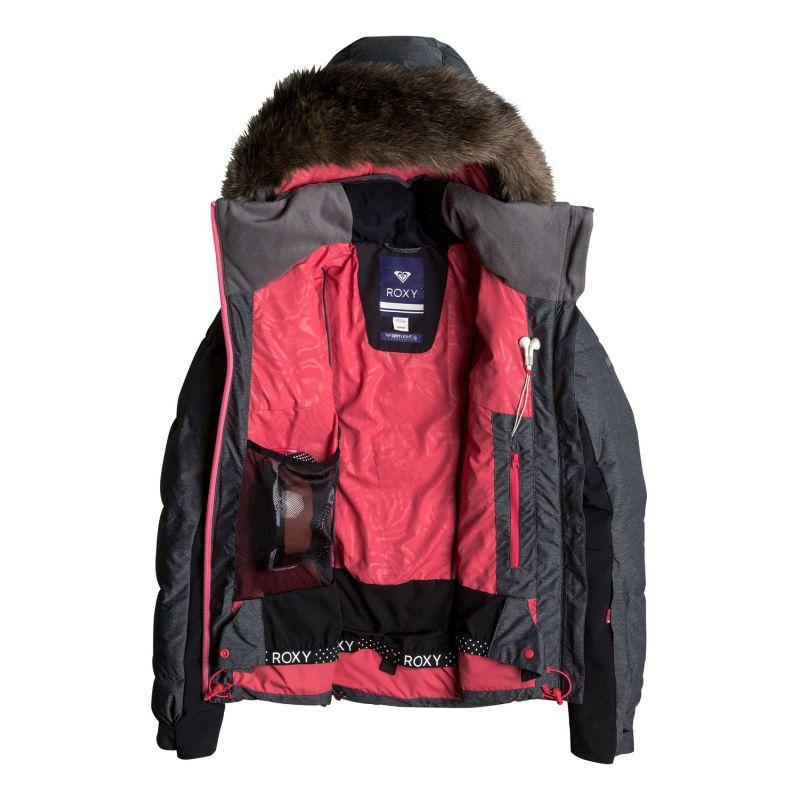 Avis Roxy Wildlife Jacket 2017 Femme : veste snow, test