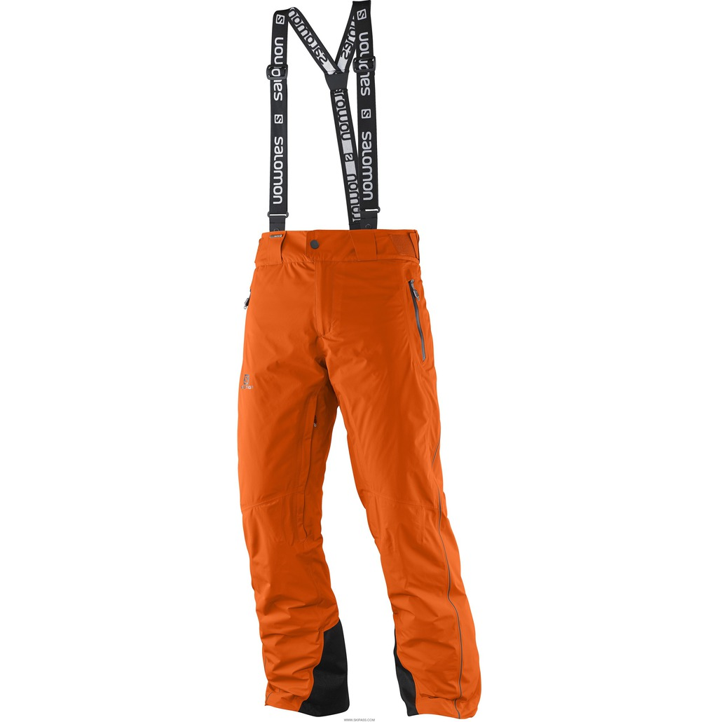 Salomon Whitemount GTX Motion Fit Pant M Clementine