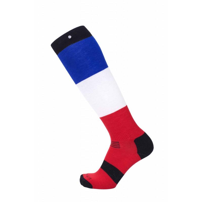 """La chaussette de france Ski et Snowboard """"France"""""""