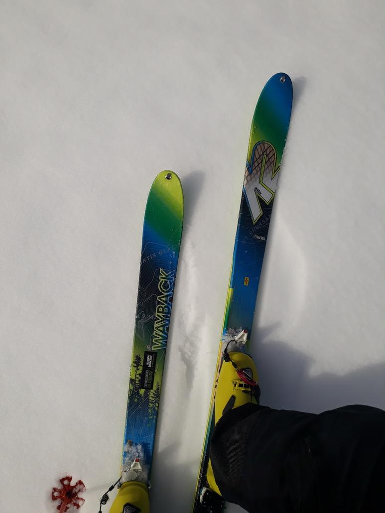 K2 Wayback 82 Ecore : ski de rando léger et passe partout