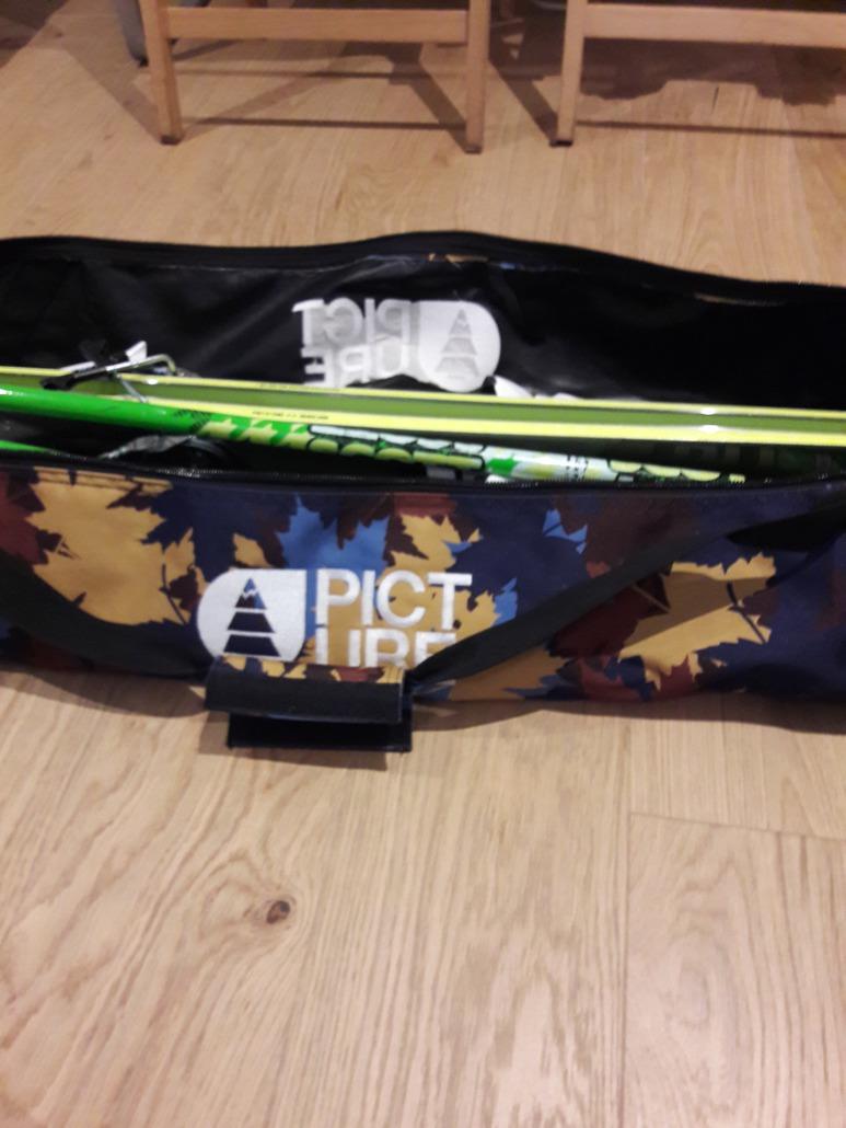 Picture Organic Clothing Leaf Print Ski Bag 2