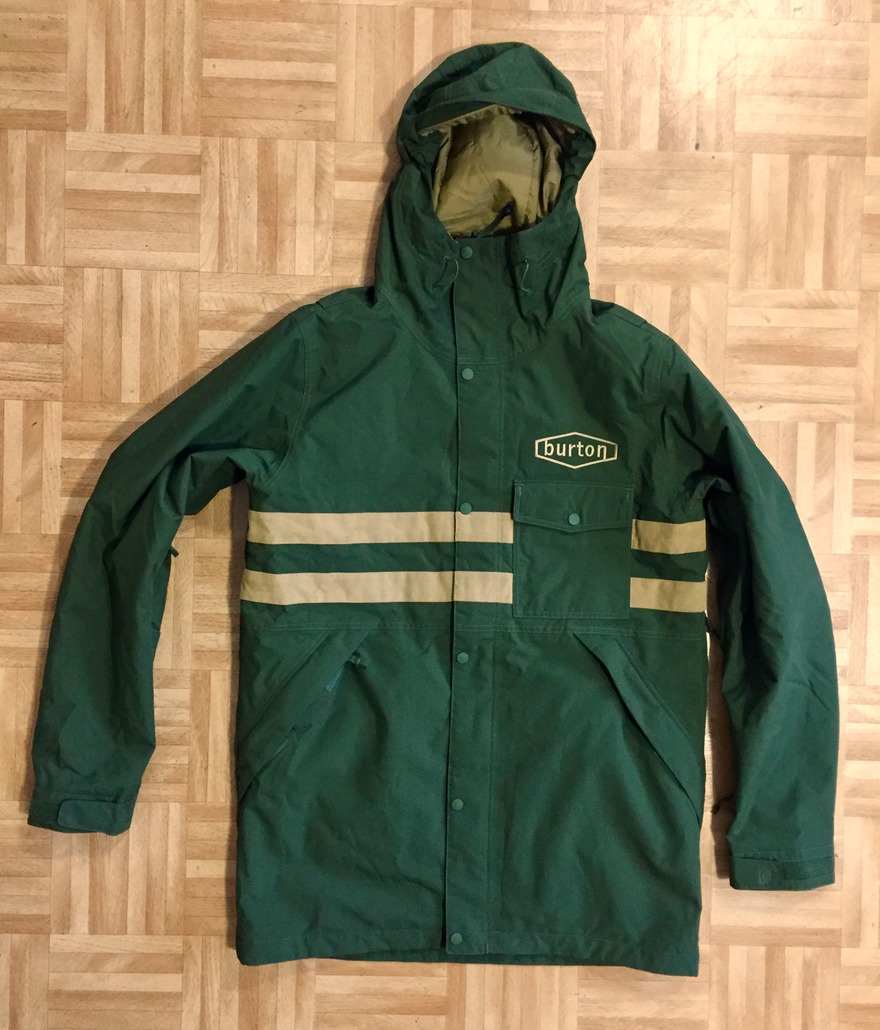Burton MB Hoosick Parka Rifle Green