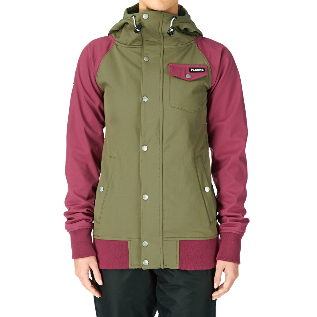 planks Reunion Soft Shell Jacket