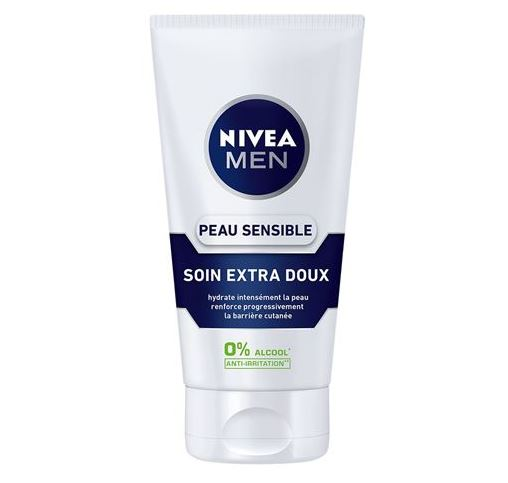 Nivéa for men crème pour peaux de phoque sensibles