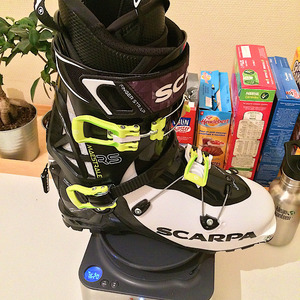 Test Scarpa Maestrale RS