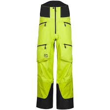 Ortovox 3L Guardian Shell Pants M Acid Green