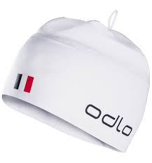 Odlo Bonnet Polyknit Team France Fan White
