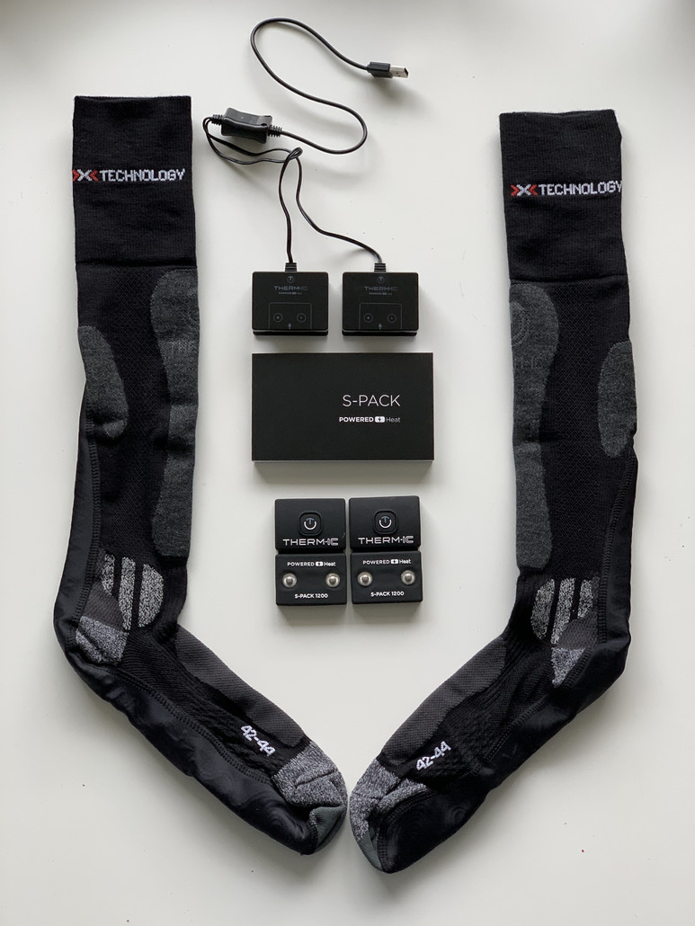 Thermic POWERSOCKS SET HEAT UNI + S-PACK 1200