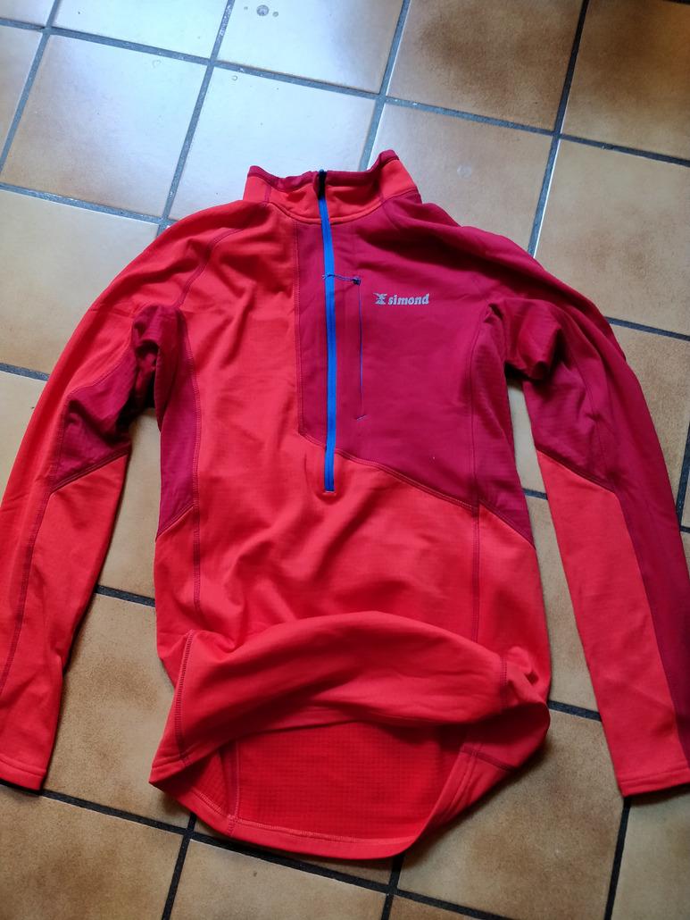 Simond Sweat Alpinisme 1/2 Zip Man