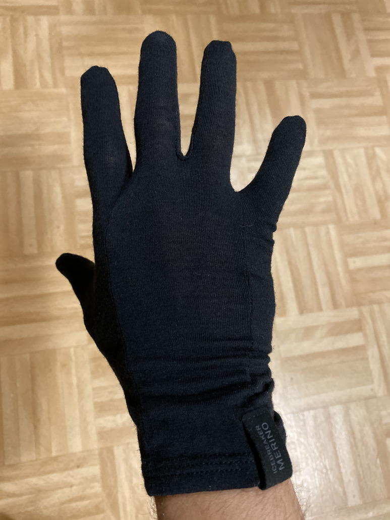 Icebreaker Oasis Glove Liner Black