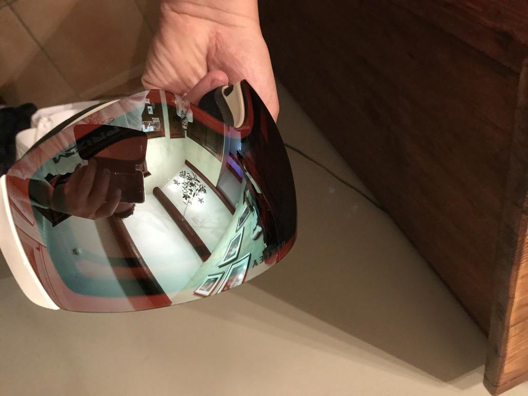 Oakley Fall Line Factory Pilot Whiteout Prizm Snow Sapphire Iridium