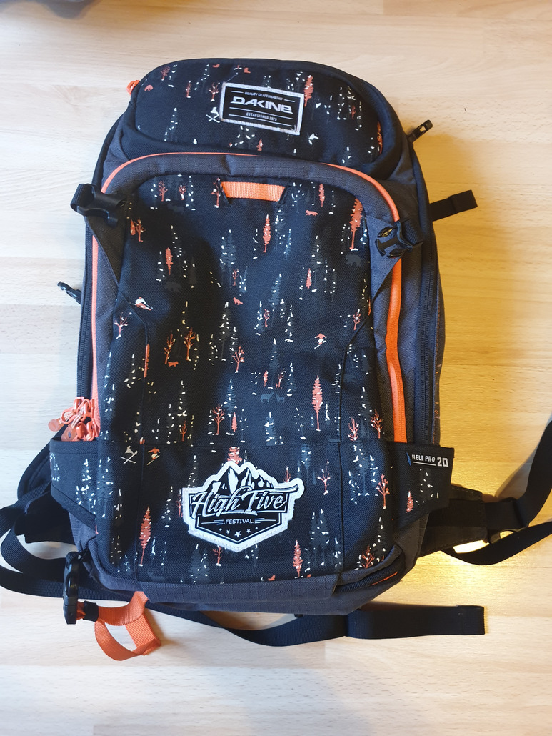 Dakine Heli Pro 20L High Five Edition