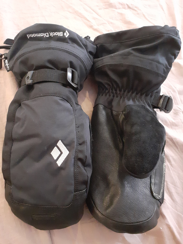 Black Diamond MERCURY MITT W MOUFLE
