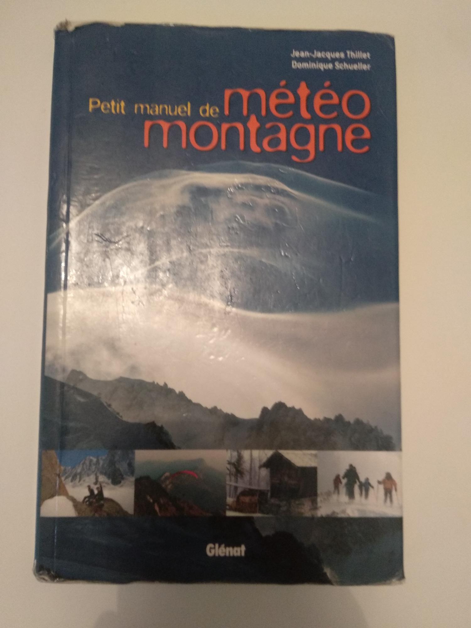 Glenat Petit manuel de météo Montagne