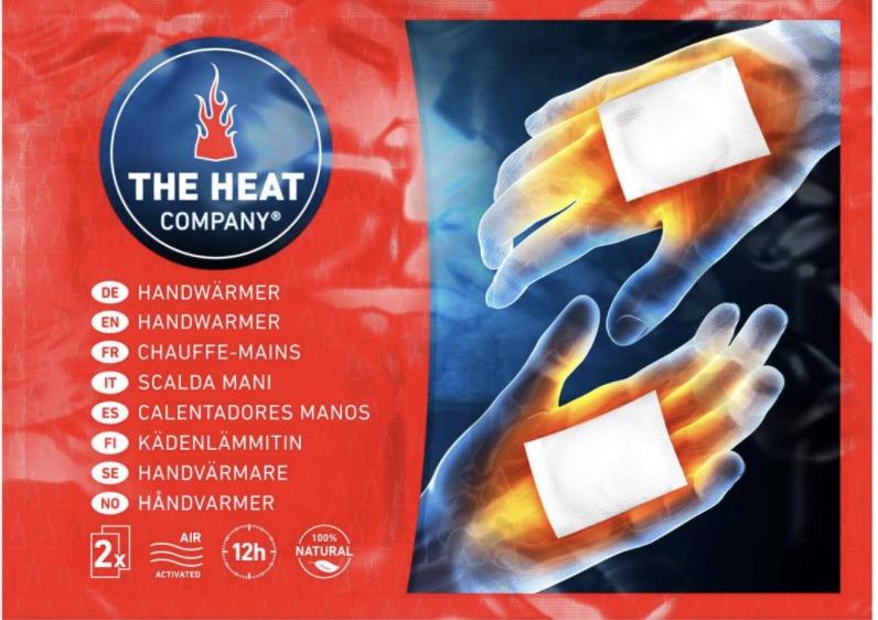 The Heat company chaufferettes mains