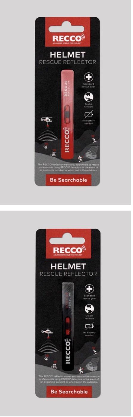 Recco Reflecteur de secours pour casque