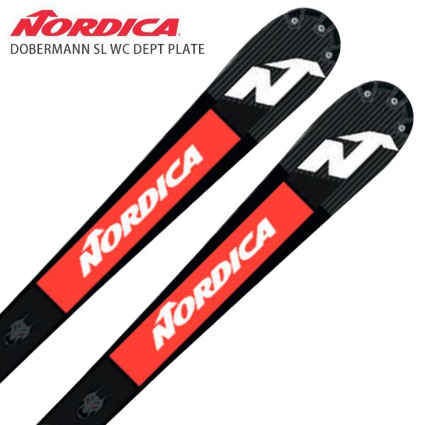 Nordica Doberman SL FIS, Dept plate