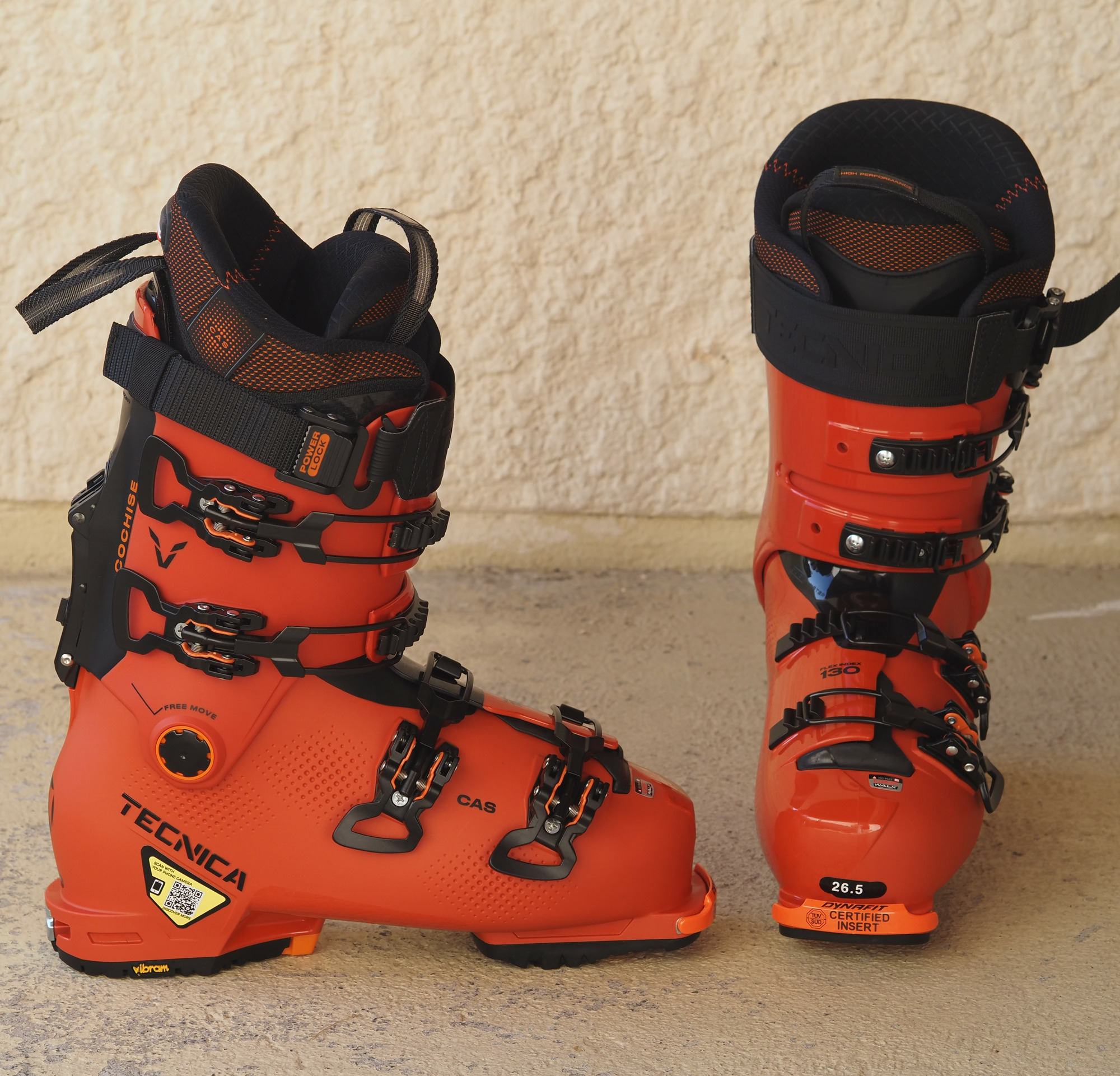 Tecnica Cochise 130 Dyn Prog Orange