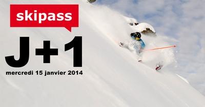J+1 : mercredi 15 janvier 2014 aux 7 Laux
