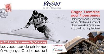 [concours] Vaujany : un séjour 4 personnes et des forfaits à gagner