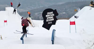Crans Montana Spring Session : DM remporte le Banked Slopestyle