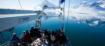 Trip en bateau dans l'archipel de Svalbard en Norvège