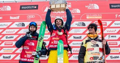 Aurélien Ducroz : ses 4 victoires à Verbier