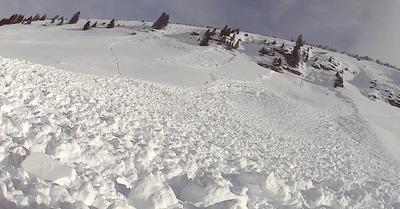 Avalanche : analyse de cas. Châtel, 2015