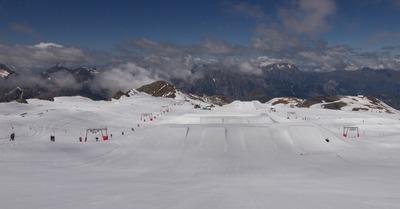 [glissade estivale]Un week-end aux 2 Alpes pour l'ouverture du glacier