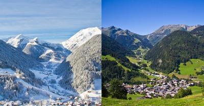 stations de ski : hiver Vs. été