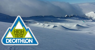 High Test Decathlon aux Deux Alpes