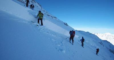 Les premières avalanches de la saison
