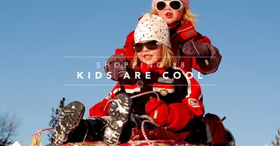 Shopping #8 : Kids are cool