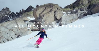 Shopping #9 : All Mountain Femmes