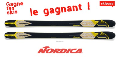 [Gagne Tes Skis] Gagnant Nordica