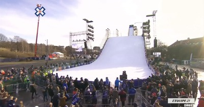 X Games Oslo Big Air : les qualifs